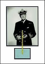 Cecil Parker  Carry On Jack Petticoat Pirates The Navy Lark Autograph UACC RD 96