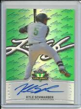 2014 LEAF VALIANT GREEN ROOKIE KYLE SCHWARBER AUTOGRAPH CHICAGO CUBS