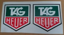 Tag Heuer Decals/Stickers,Printed on High Quality Vinyl - Laminated x 2