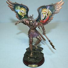 Bradford Exchange Archangels Light Bronze Sculpture: Barachiel Lightning Of God