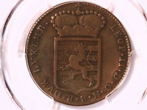 1790 - H 1 Sol PCGS Cleaned - VF Detail Luxembourg KM - 15 39804300