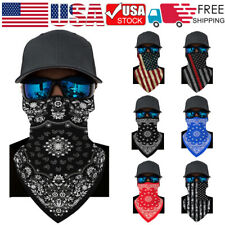 Bandana *Hanging Face Mask Head Wrap Scarf Cover Band Motorcycle Outdoors