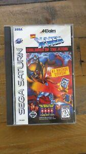 LIKE NEW - X-Men Children of the Atom - SEGA SATURN GAME XMEN - Complete CIB USA