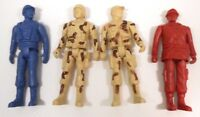 "Vintage Greenbrier International Inc. Lot of 4 Military/Action Figures 5"" Tall"