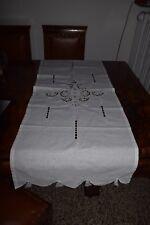 Tenda cotone a intaglio e festone cotton Curtain Rideau h. 123x45,5 (23) B20 ^