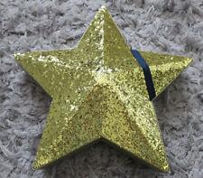 Gold Glitter Star Gift Box