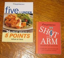 Weight Watchers 5 and under plus Shot in the Arm Books