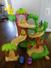 Disney Jungle Junction Fisher-Price Roadway Playset