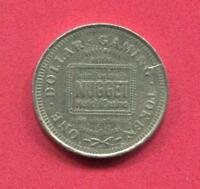 1.00 Casino Slot Token - Sparks Nev - John Ascuaga's Nugget Casino - -