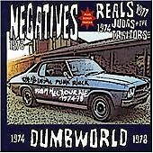 The Negatives/The Reals-Dumbworld: '74-'78 CD Import  New