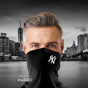 NY Neck Gaiter Buffs Face Mask Face Cover Washable Breathable - UNISEX