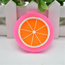 Cute Silicone Lemon Slices Fruit Mold Chocolate Fondant  Cake Mould Decor Tool