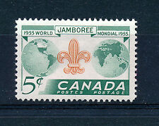 CANADA 1955 EIGHTH WORLD SCOUT JAMBOREE SG482 BLOCK OF 4 MNH