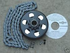 "Minibike Parts Go Kart 3/4"" Bore Clutch & 4 Ft. Chain #41"