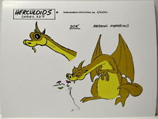 HERCULOIDS MODEL SHEET PRINT - ZOK w Flower Hanna Barbera