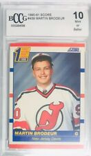 Martin Brodeur Rookie 1990-91 Score RC #439 Graded Beckett 10 Mint RC HOF Devils