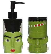 Sourpuss Monster Bath Set New Frankenstein Bride Horror Goth Halloween Ghoul Hom