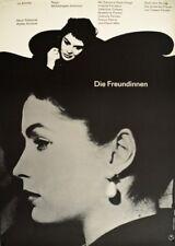 DIE FREUNDINNEN M. Antonioni Eleonora Rossi Drago Filmplakat A1 GEROLLT 1955