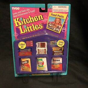 Kitchen Littles Tyco Snack Packs Chips Cookies Candy