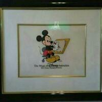 Disney cel cell picture Mickey with  Picture frame very rare goods from japan 7A