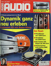 Audio 7/07 Linn LP 12, Heco Celan 500, KEF iQ 9, Opera Audio M100, Onkyo TX-SR