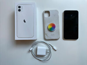 Apple iPhone 11 -128GB - White (T-Mobile) Unlocked A2111 (CDMA + GSM)