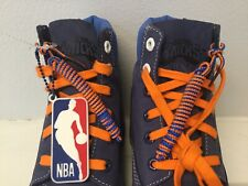 Timberland New York Knicks Official NBA Shoes Size 7 New Men Blue Leather Boots