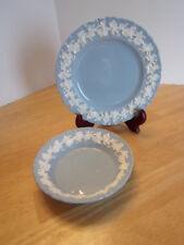 Wedgwood Cream on Lavender Plate Bowl