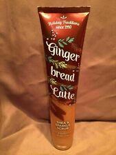(New) Bath & Body Works Gingerbread Latte Shea Sparkle Scrub 6.1 Oz