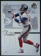 NFL 60 Amani Toomer New York Giants Upper Deck 2002 SP Authentic