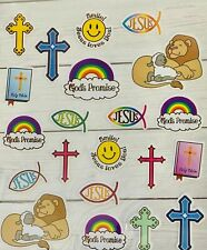 1 sheet (21 stickers) Religious themed stickers journals planner DIY Crafts