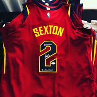 Collin Sexton Signed Cleveland Cavs Autograph Nike Pro-Cut Authentic Jersey JSA
