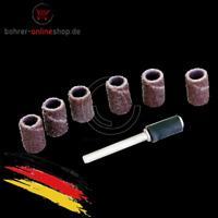 Runde Trommelschleiferset Aufnahmeschaft für Dremel + Proxxon + Bohrmaschine