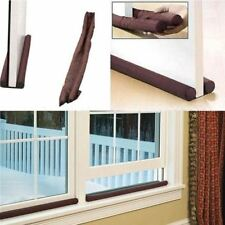 New Twin Draft Draught Guard Excluder Stopper Energy Saving Window Insulator