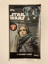 Topps Star Wars ROGUE ONE Series 2 Trading Cards 1 New Pack