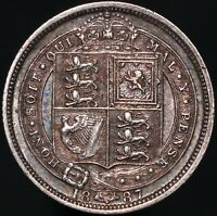 1887 | Victoria Proof Sixpence | Silver | Coins | KM Coins