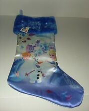 "Disney Frozen Olaf's Adventure Shining Bright Christmas Stocking, 18"" - New"
