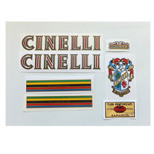 Early Cinelli SC decal  set complete for Campagnolo