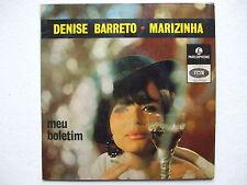 DENISE BARRETO MARIZINHA - MEU BOLETIM+3 45/7 BRAZIL MOD FREAKBEAT GARAGE PSYCH