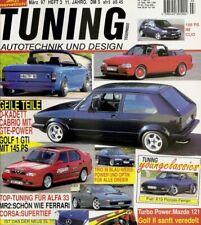 Tuning 3/97 * Alfa 33 * Fiat X 1/9 * Toyota MR 2 * Mercedes SLK * Mazda 121 *