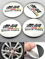 4× 56mm Auto Wheel Center Hub Caps Emblem Badge Sticker For MUGEN