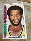 1976-77 Topps Basketball Kareem Abdul-Jabbar #100, High Grade