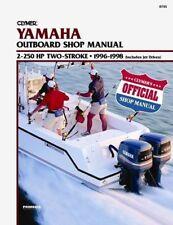 Reparaturanleitung Werkstattbuch für Yamaha 2-250 PS 2-Takt Bj. 1996-1998