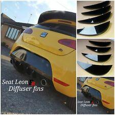 Seat Leon FR MK2 diffuser fins/seat leon fr/seat fr MK2 TDI diffuser fins/fr tdi
