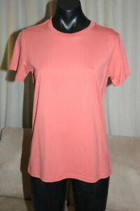 ascolour AS Colour Maple Tee T-Shirt, Coral, S, NWT, RRP$22.00