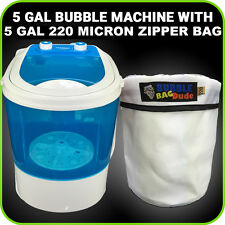 bubble ice bags' bubble machine 7Gal. WATCH VIDEO  ,EXTRACTION BAGS