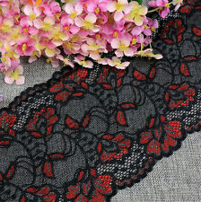 2 Yards Tulle Mesh Lace Net Trim Embroidered Ribbon Clothes Dress Sewing Craft