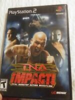 Tna Impact  for  Ps2 Used in Very Good Condition No  Manual Free Shipping