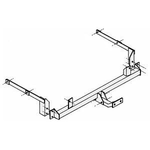 PCT Towbar for Peugeot 406 Estate 1997-2004 - Flange Tow Bar