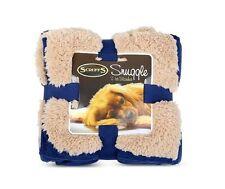 Scruffs Pet Dog Snuggle Comfort Blanket Reversible Design 110 X 75cm Red